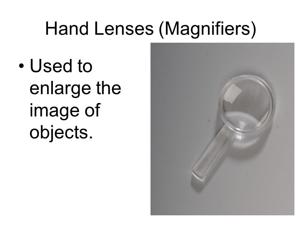 Hand Lenses (Magnifiers)