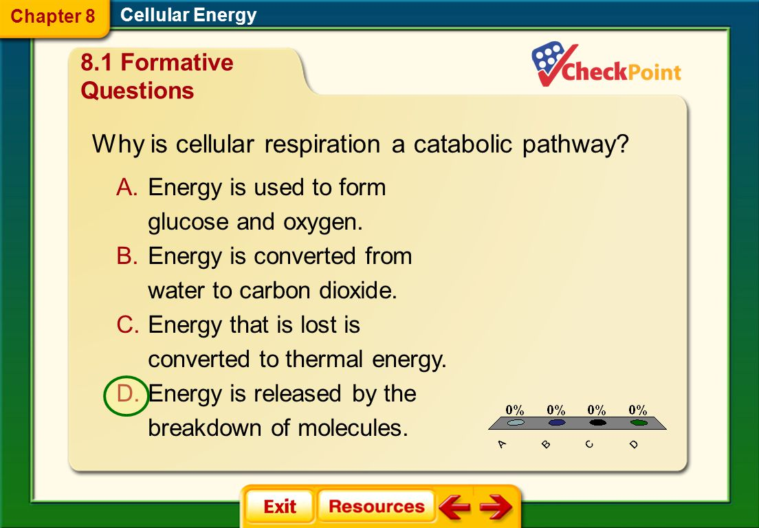 Why is cellular respiration a catabolic pathway