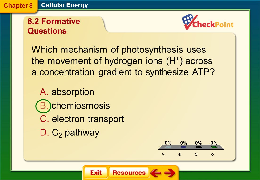 Which mechanism of photosynthesis uses