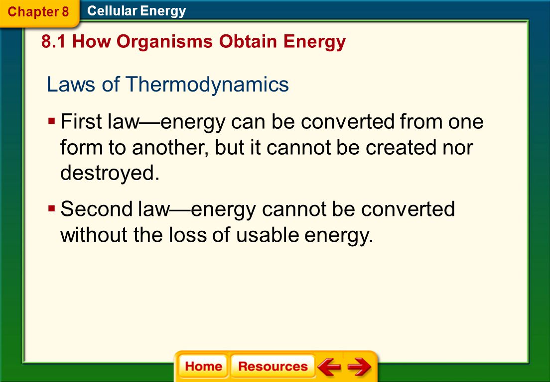 Laws of Thermodynamics