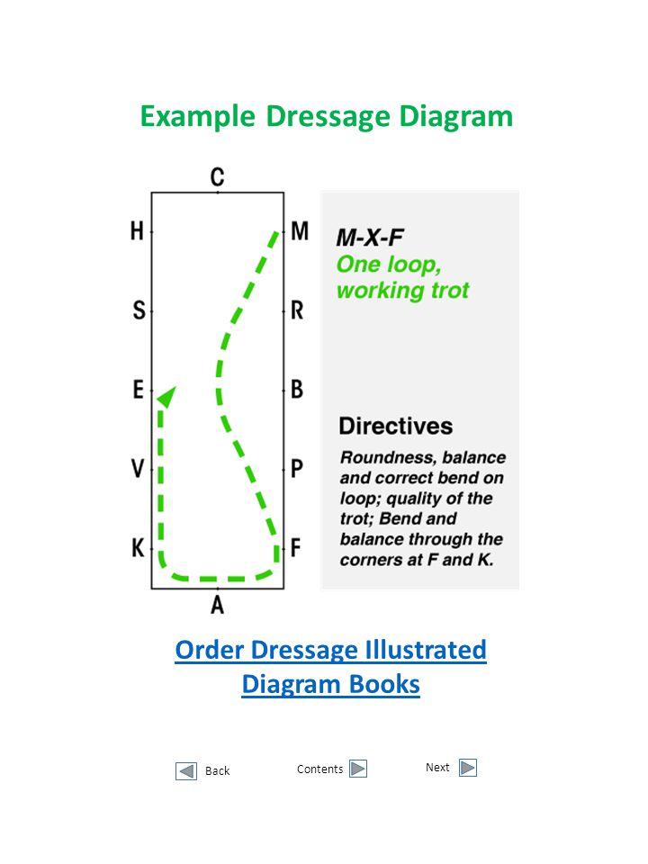 Example Dressage Diagram Order Dressage Illustrated Diagram Books
