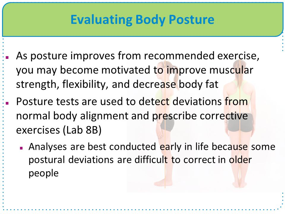 Evaluating Body Posture