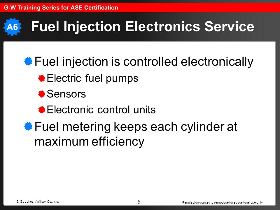 Fuel Injection Electronics Service