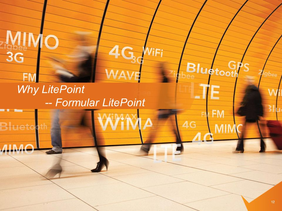Why LitePoint -- Formular LitePoint 12