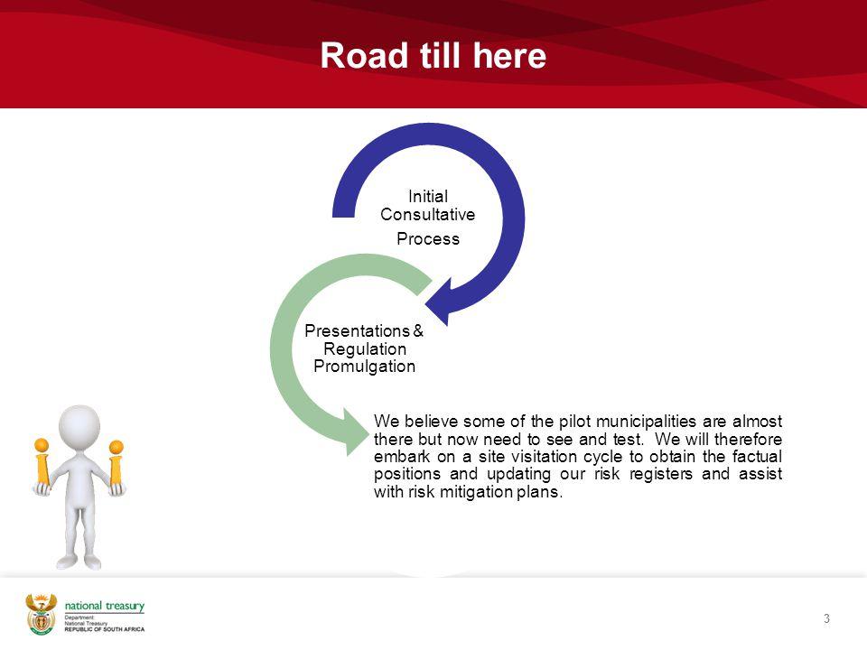 Presentations & Regulation Promulgation