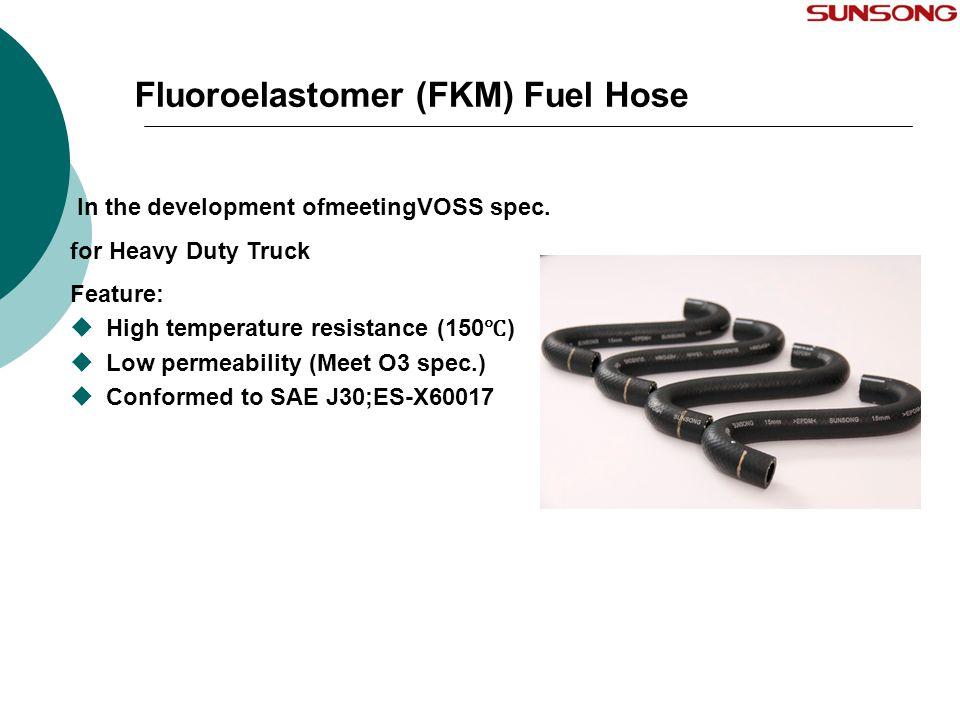 Fluoroelastomer (FKM) Fuel Hose