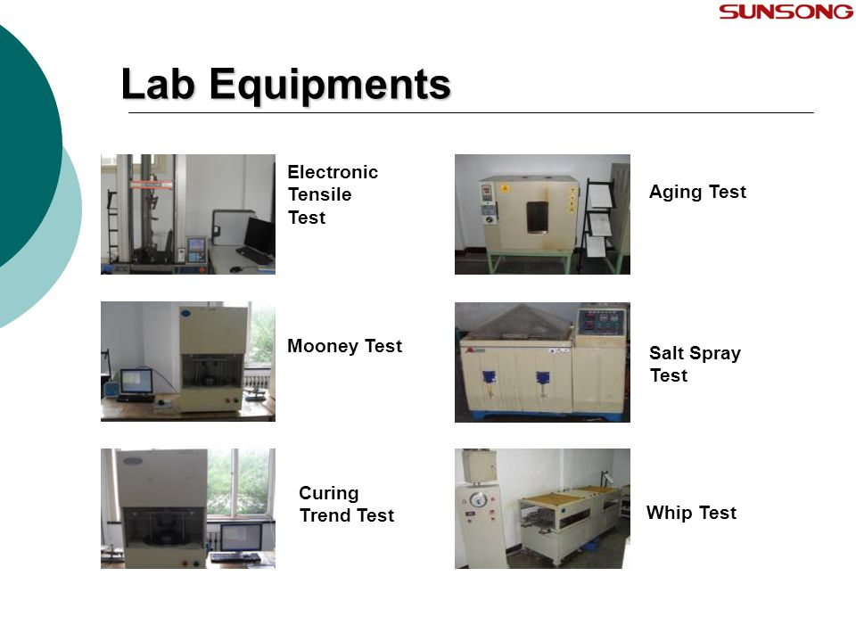 Lab Equipments Electronic Tensile Test Aging Test Mooney Test
