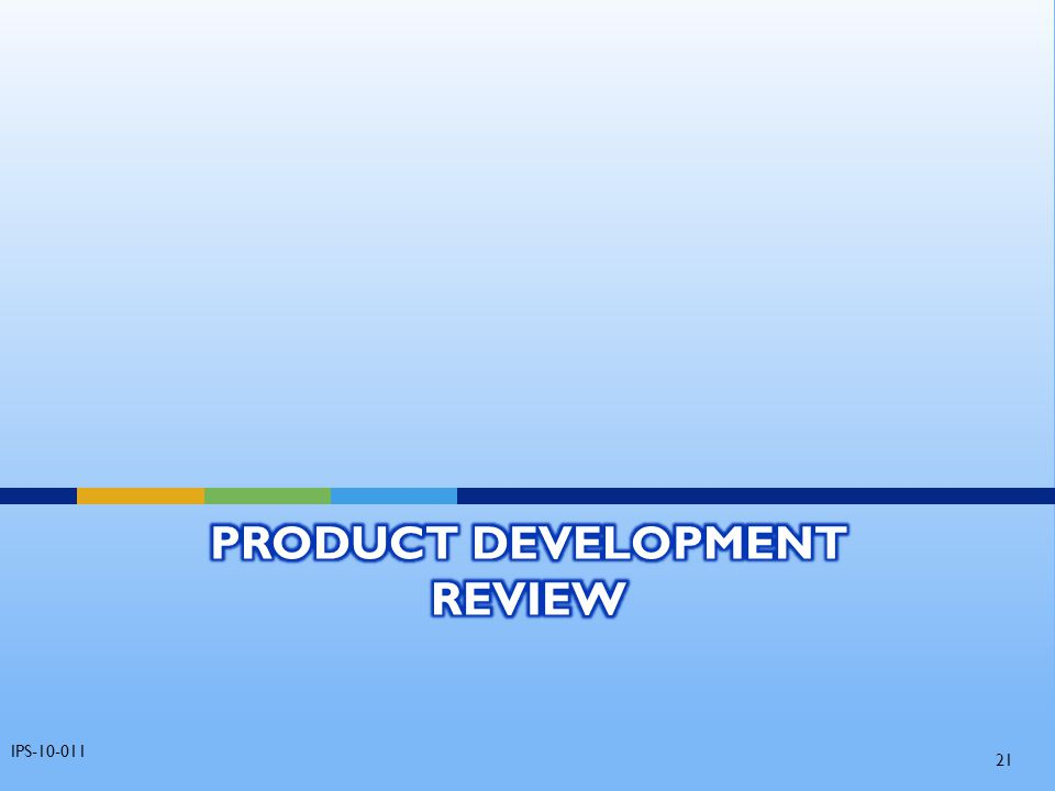 Product Development Review