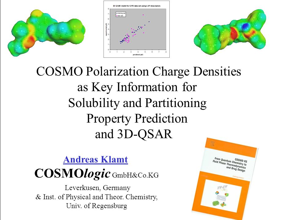COSMO Polarization Charge Densities as Key Information for