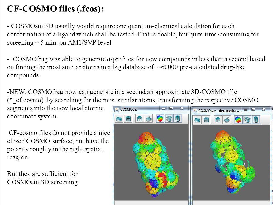 CF-COSMO files (.fcos):