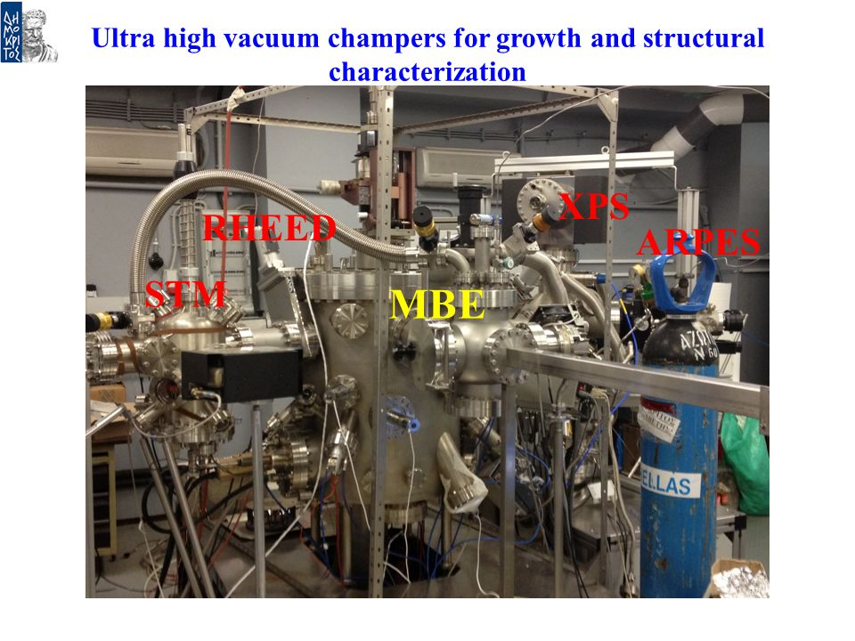 Ultra high vacuum champers for growth and structural characterization
