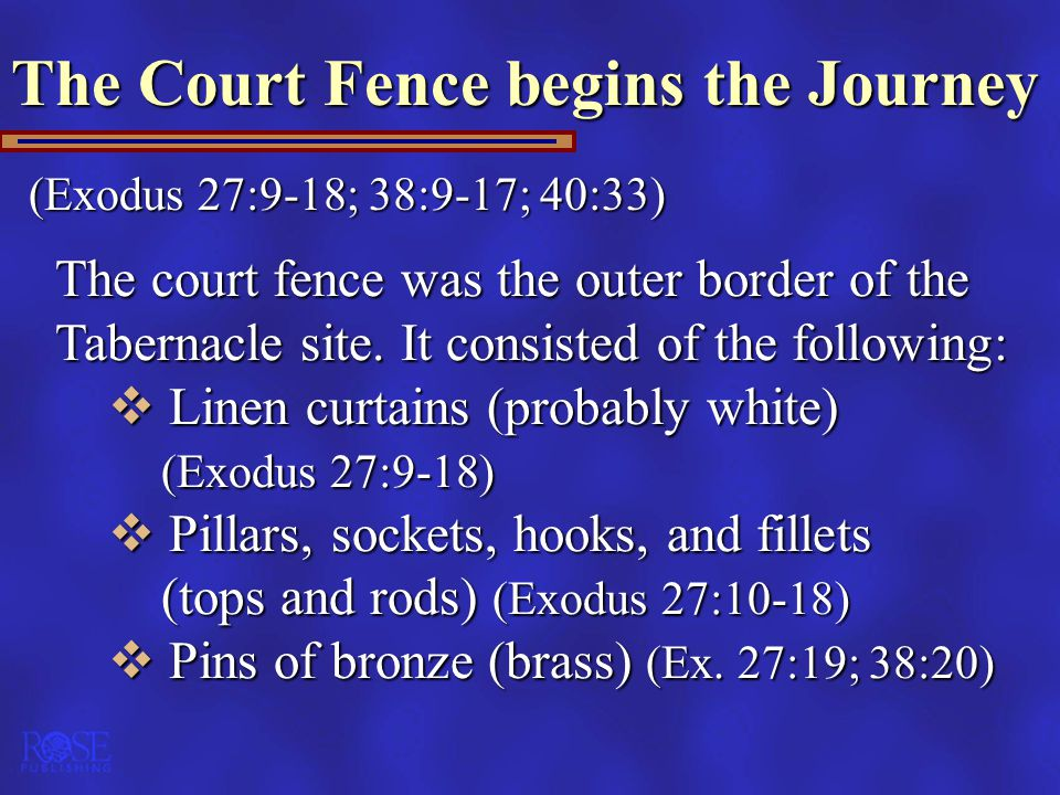 The Court Fence begins the Journey