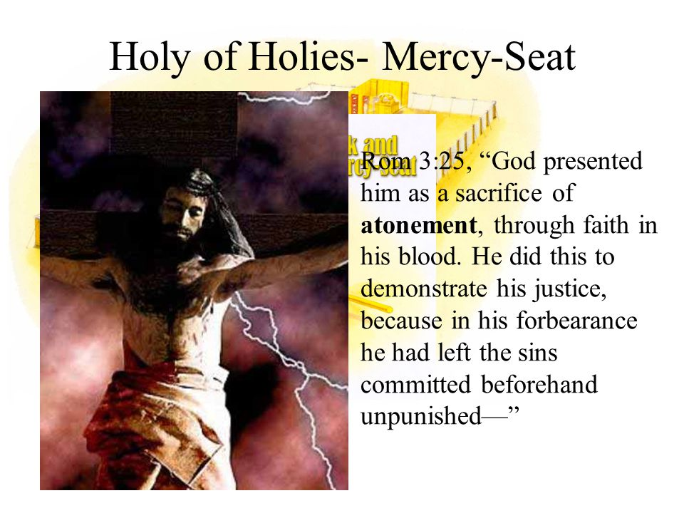 Holy of Holies- Mercy-Seat