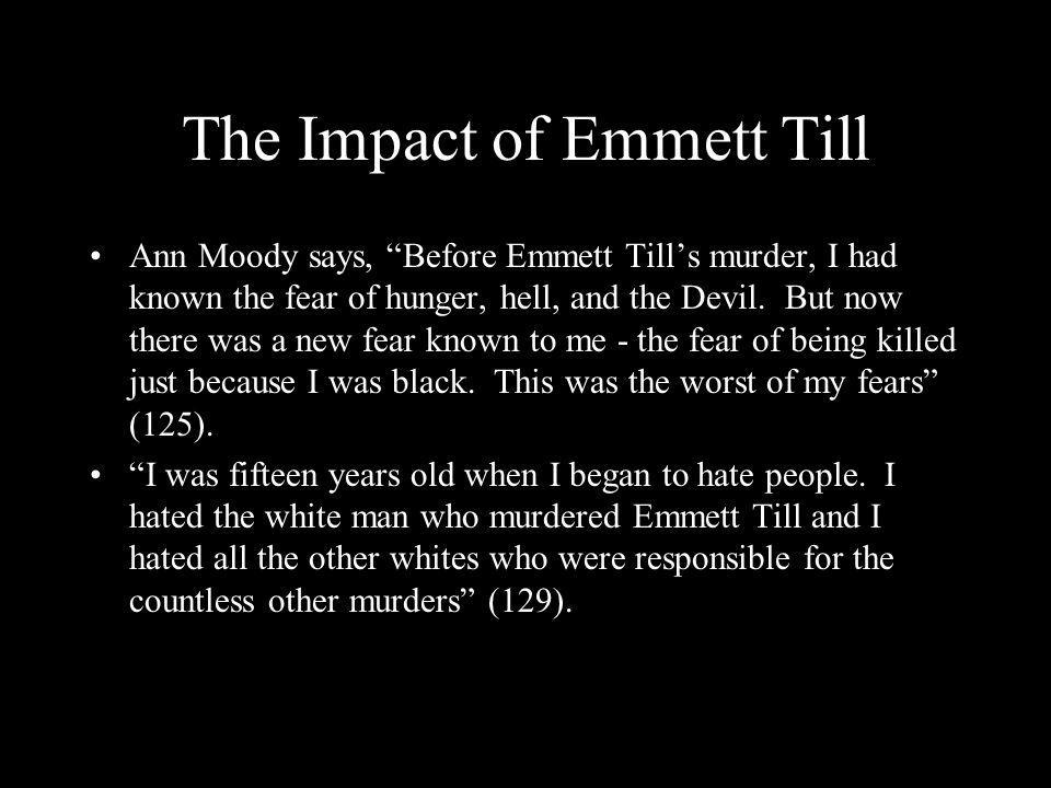 The Impact of Emmett Till
