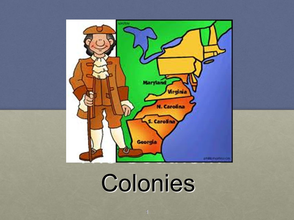 The Southern Colonies 1