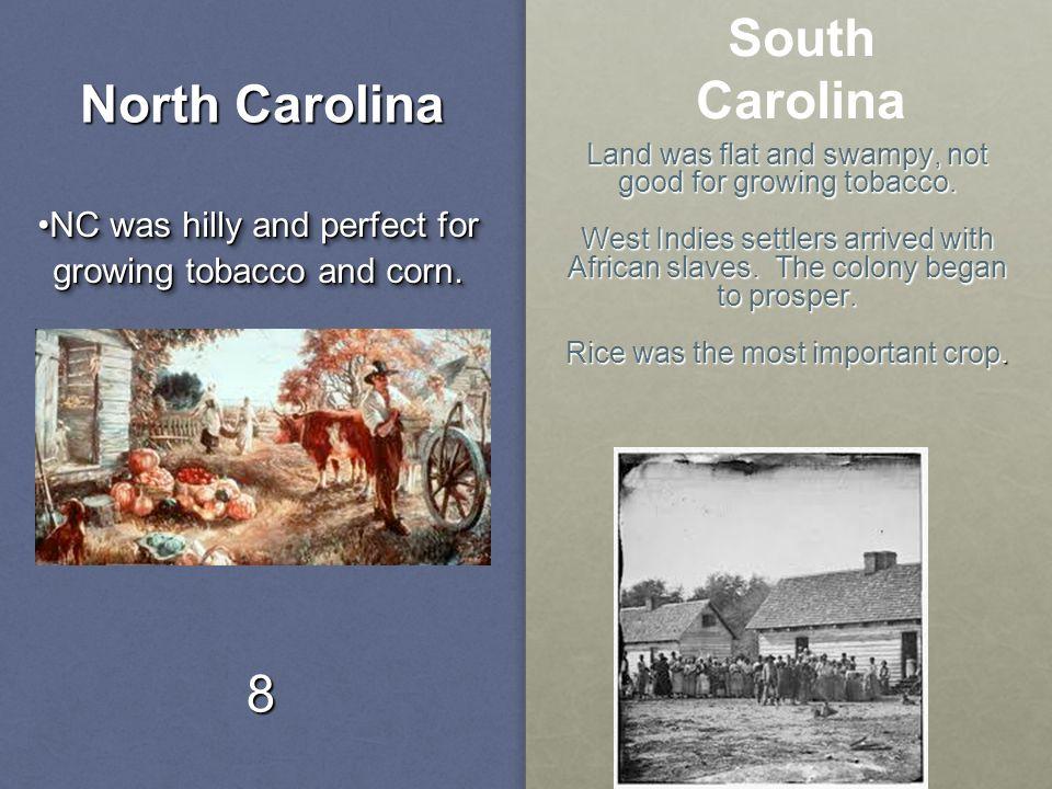 North Carolina South Carolina
