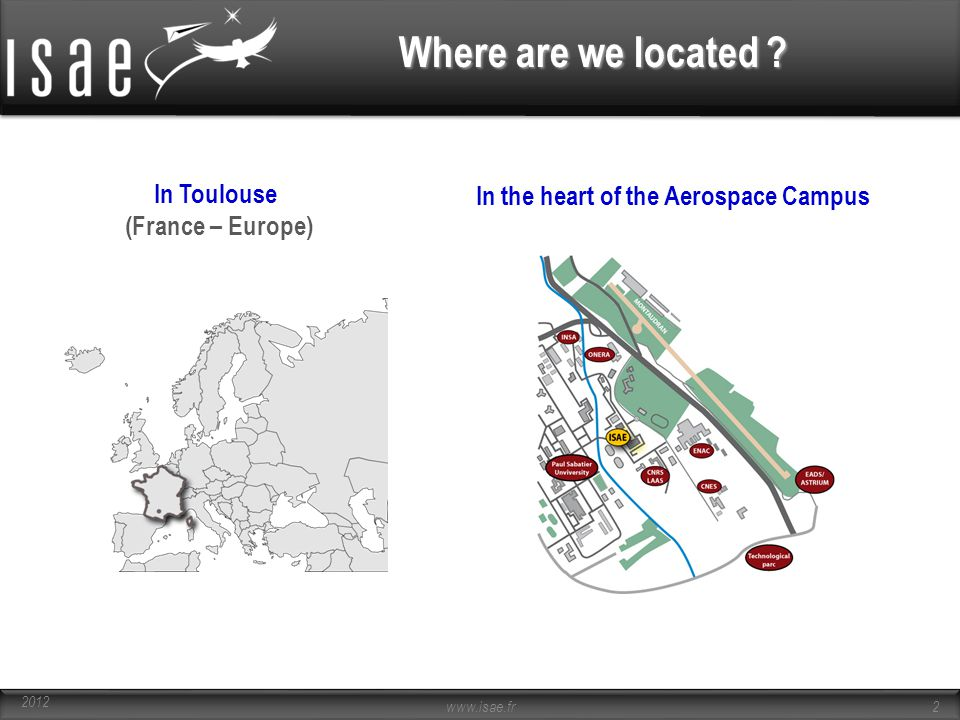 Where are we located In Toulouse