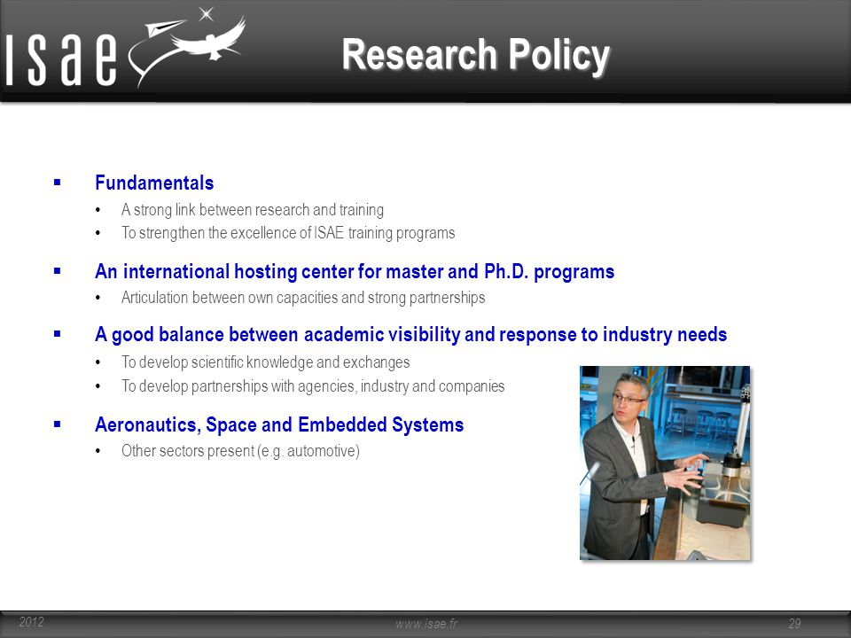 Research Policy Fundamentals