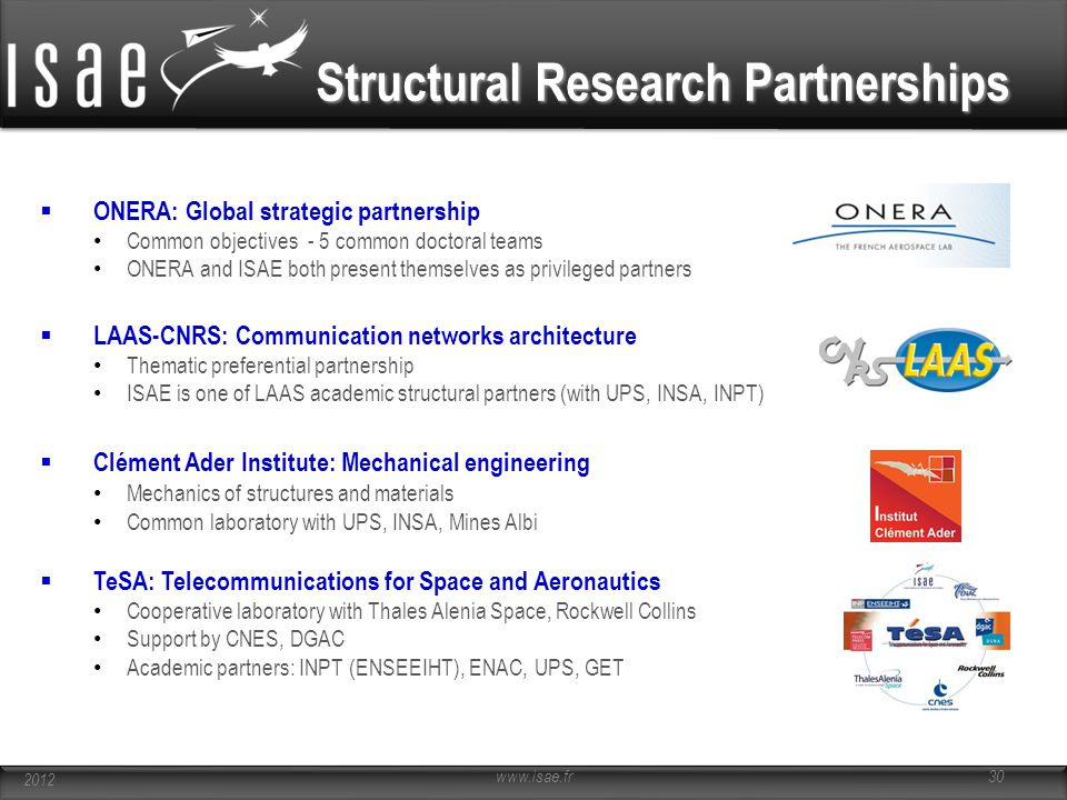 Structural Research Partnerships
