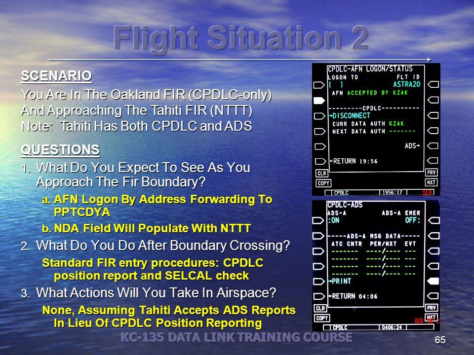 KC-135 DATA LINK TRAINING COURSE