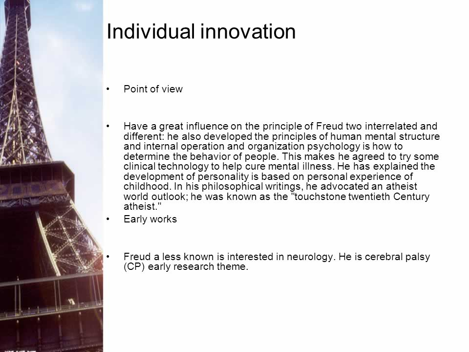 Individual innovation
