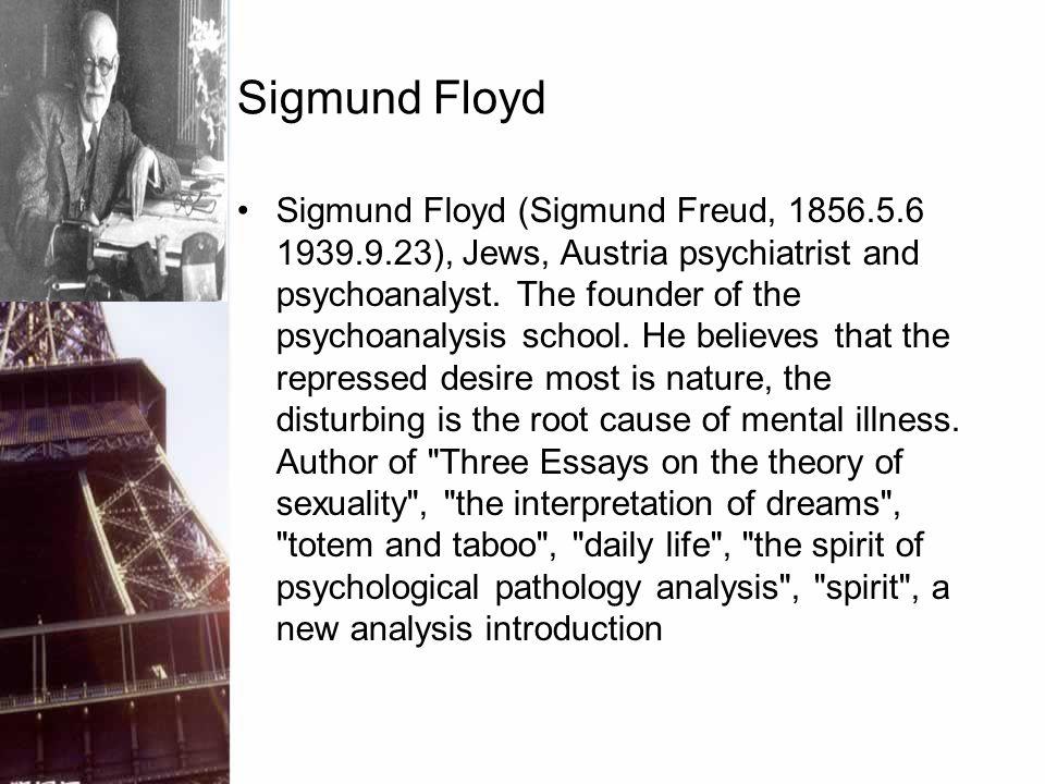Sigmund Floyd