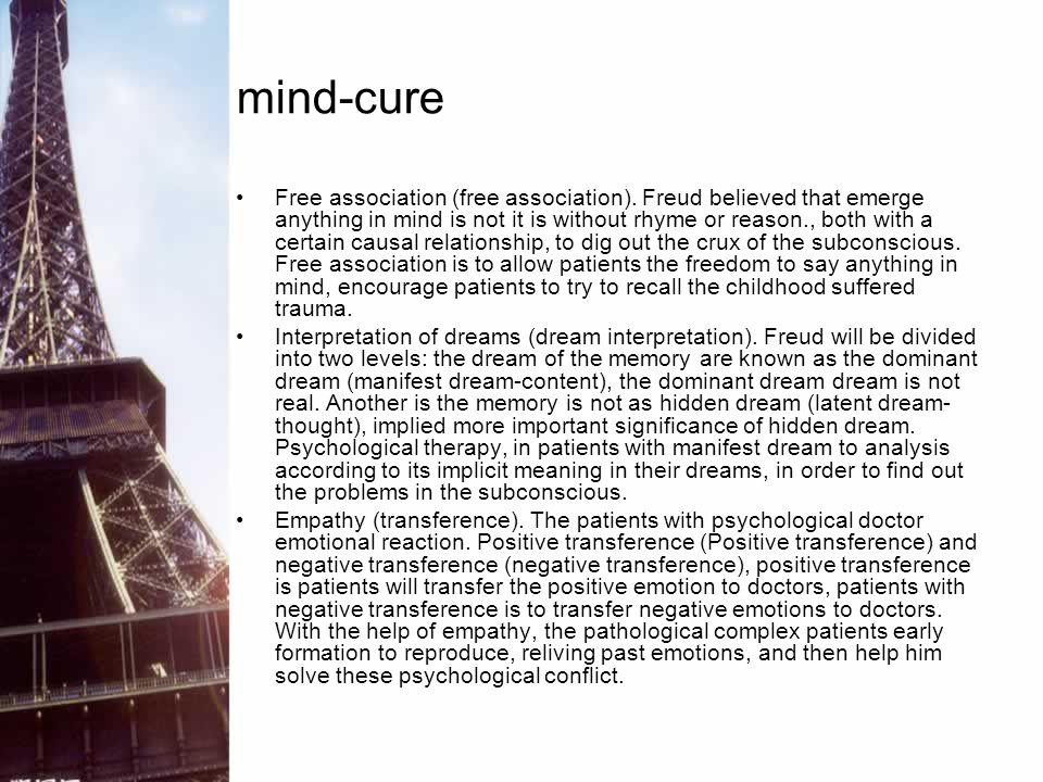 mind-cure