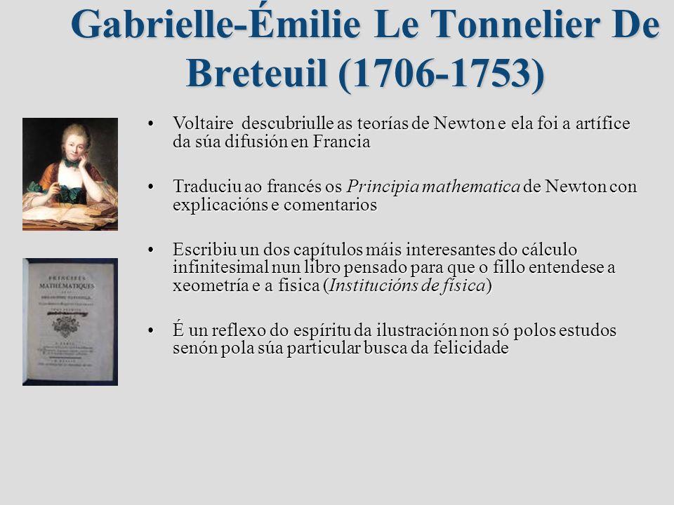 Gabrielle-Émilie Le Tonnelier De Breteuil (1706-1753)