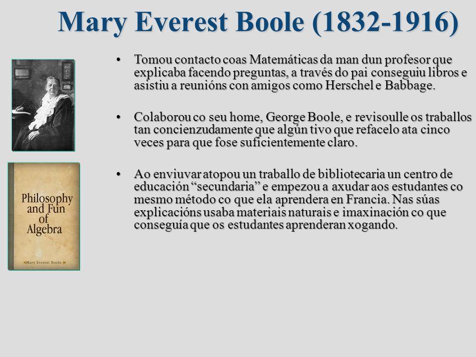 Mary Everest Boole (1832-1916)
