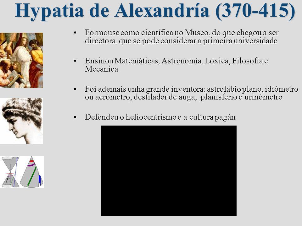 Hypatia de Alexandría (370-415)