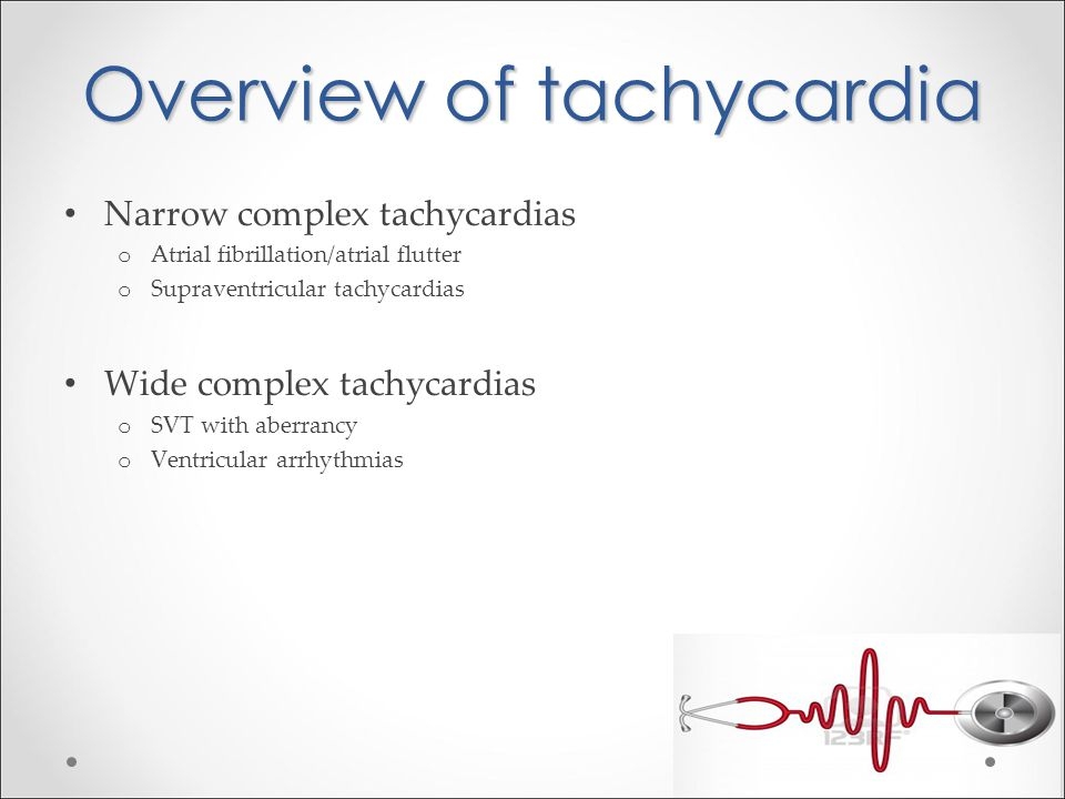 Overview of tachycardia