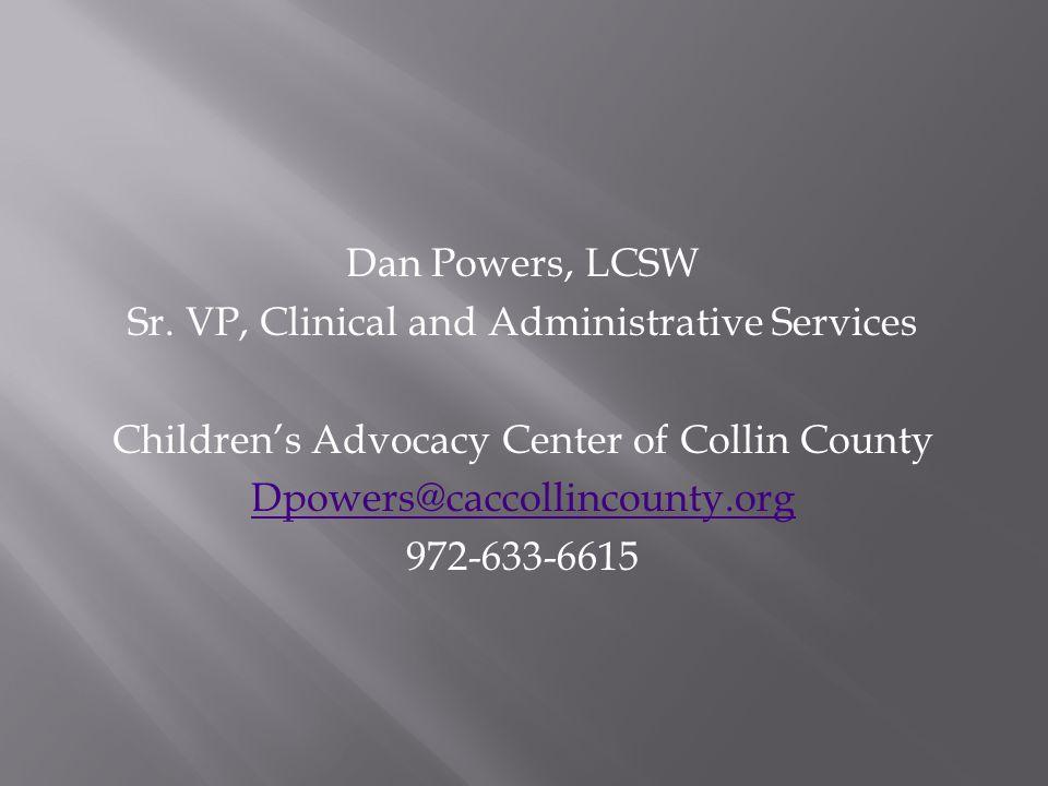 Dan Powers, LCSW Sr.