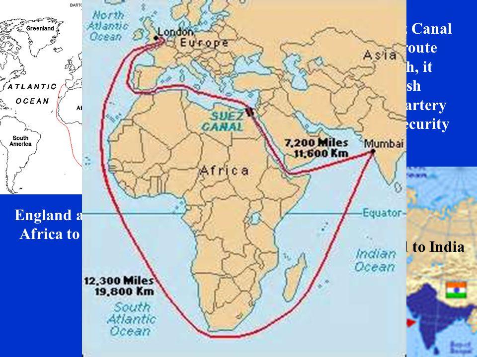 England around Africa to India