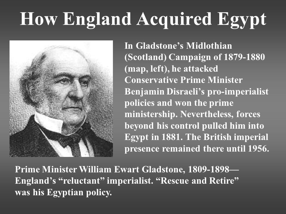 How England Acquired Egypt