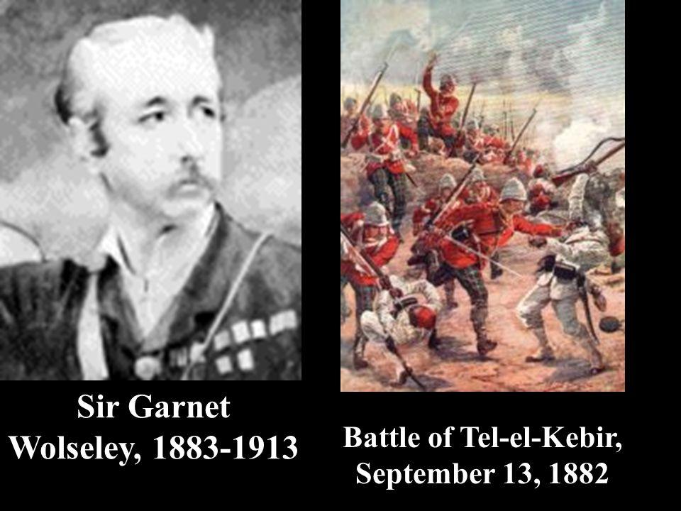 Battle of Tel-el-Kebir, September 13, 1882