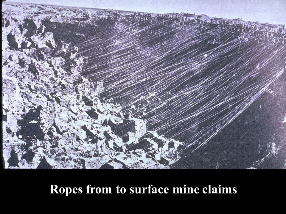 Kimberley Diamond Mine—the Largest Manmade Hole on Earth