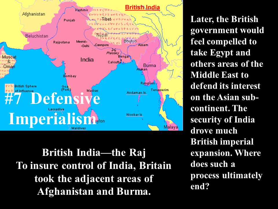 #7 Defensive Imperialism