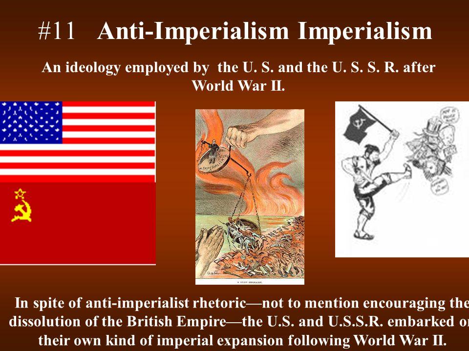 #11 Anti-Imperialism Imperialism