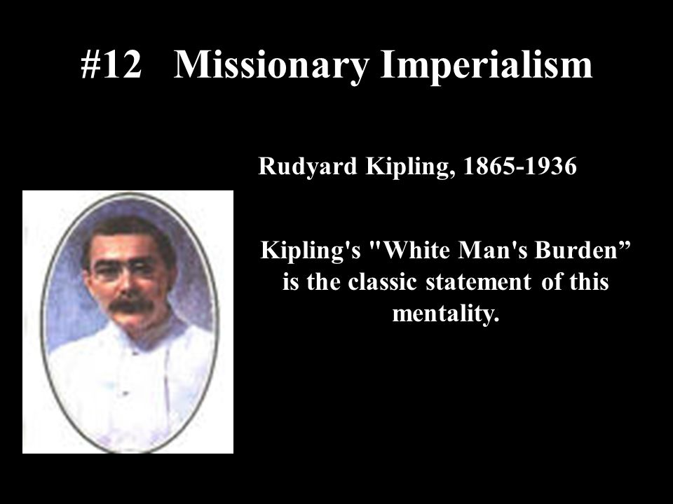 #12 Missionary Imperialism