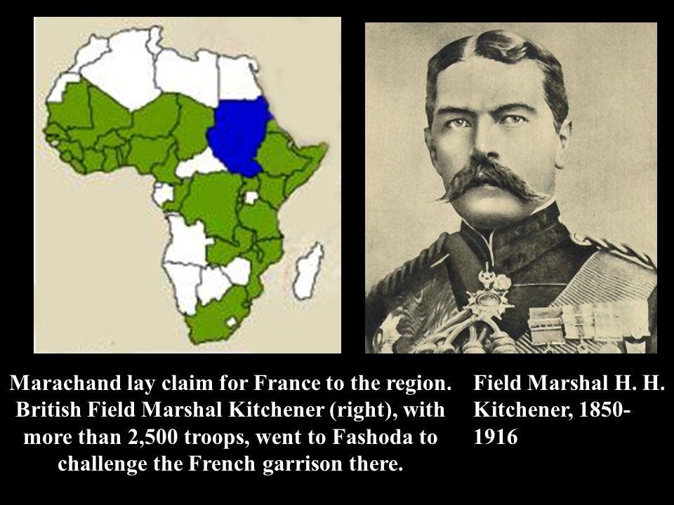 Marachand lay claim for France to the region