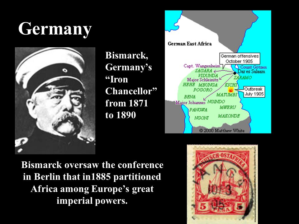 Germany Bismarck, Germany's Iron Chancellor from 1871 to 1890