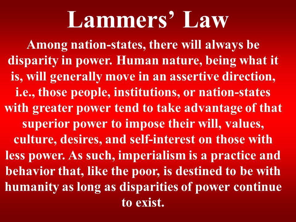 Lammers' Law