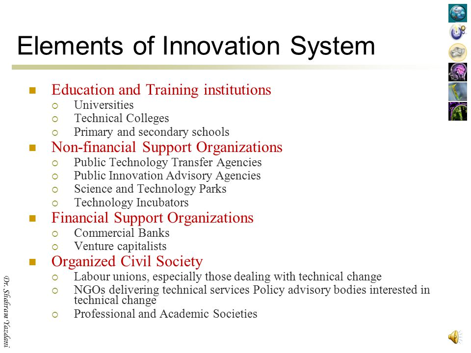 Elements of Innovation System