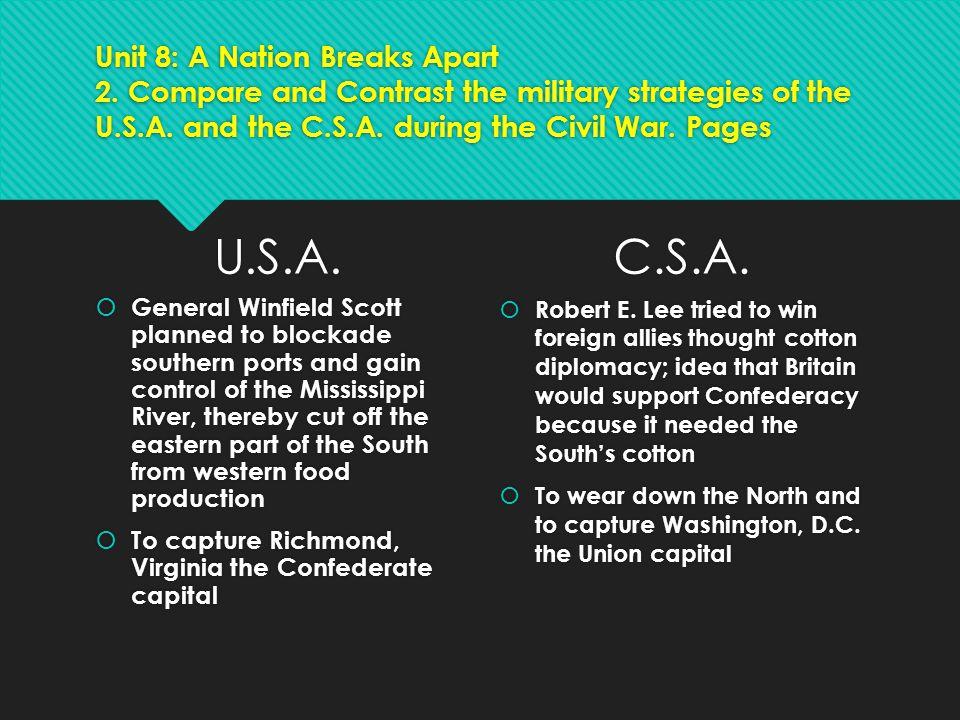 Unit 8: A Nation Breaks Apart 2