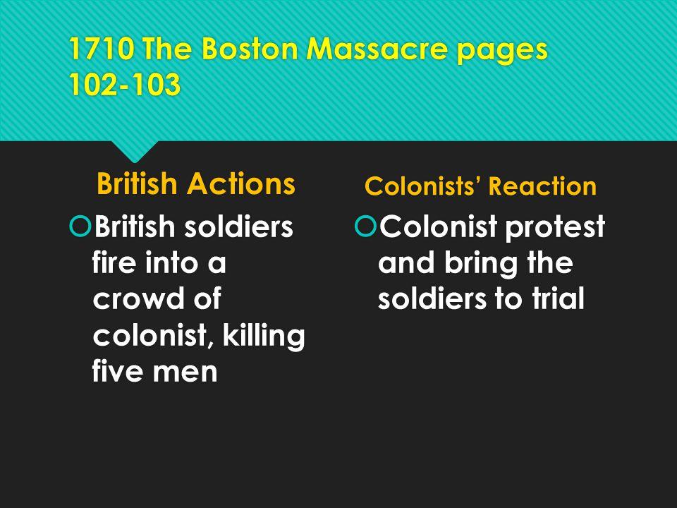 1710 The Boston Massacre pages 102-103