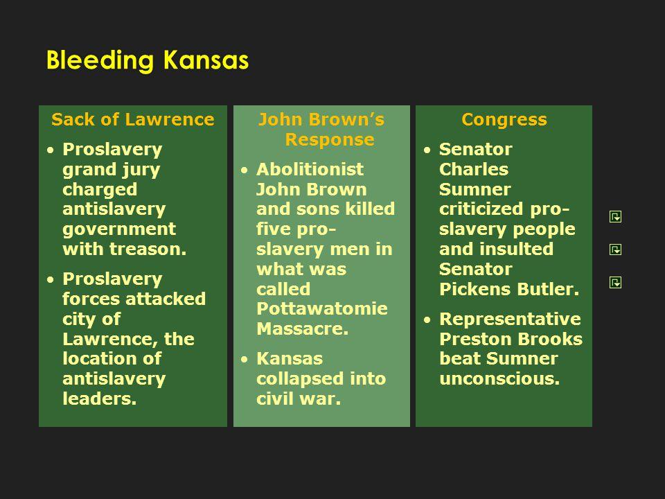 Bleeding Kansas Sack of Lawrence