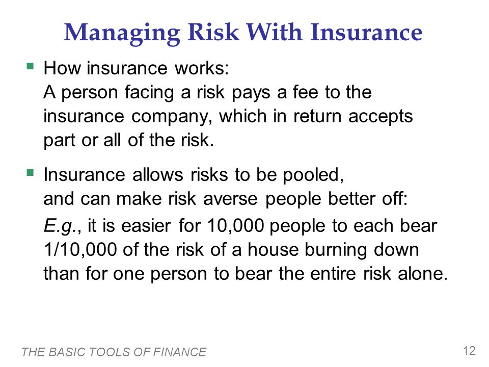 Two Problems in Insurance Markets