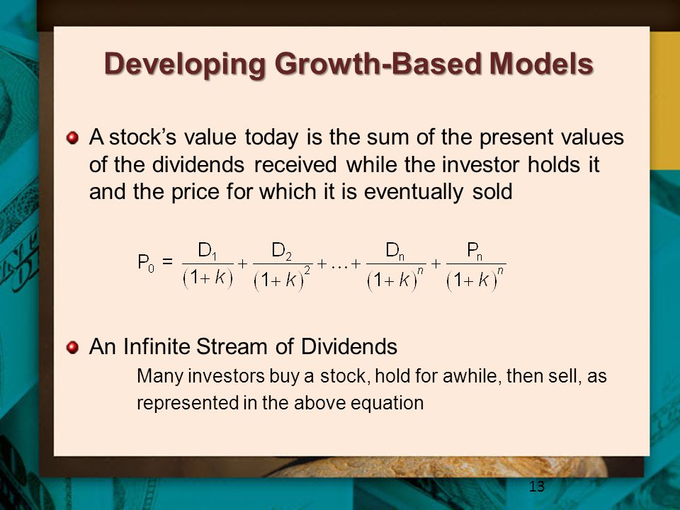 Developing Growth-Based Models