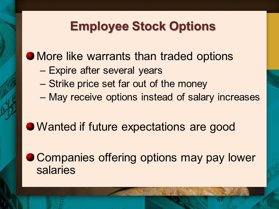 Employee Stock Options