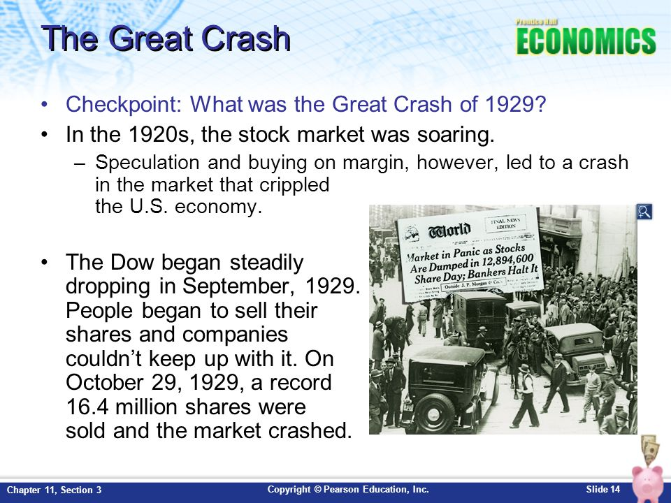 The Great Crash Checkpoint: What was the Great Crash of 1929